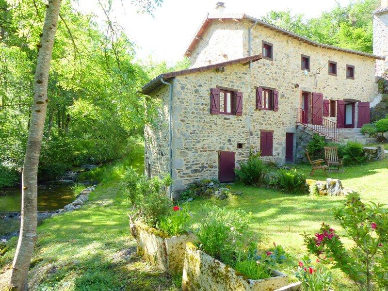 Le Moulin des Thons, holiday rental in Le Mayet-de-Montagne