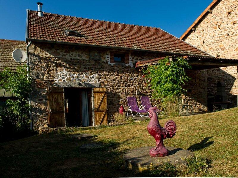 Etable du MOULIN CHATEL, location de vacances à Lapalisse