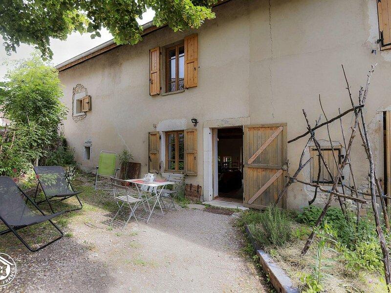 Eco gîte du Saint Baudille, vacation rental in Saint-Bois