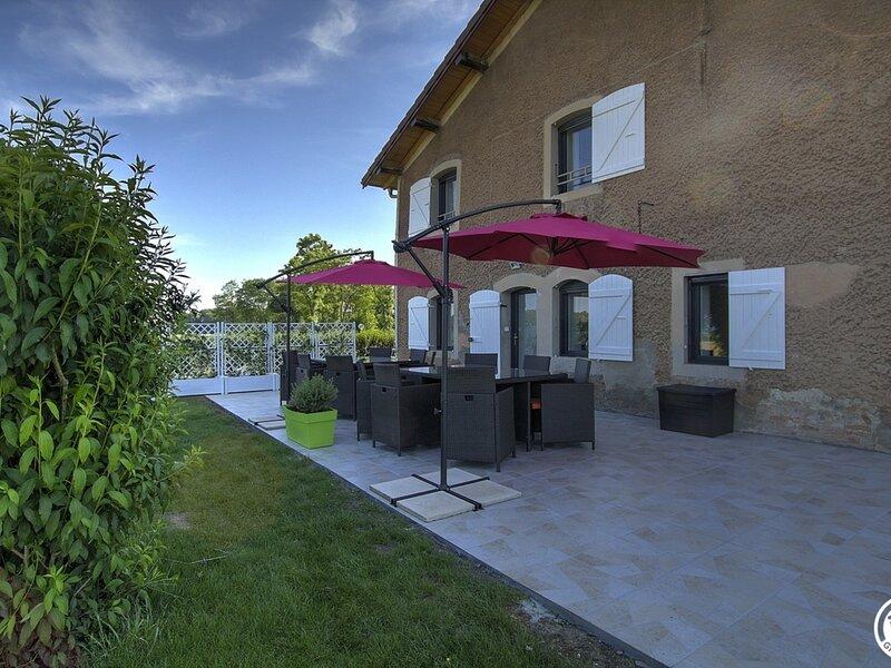 Gîte de la forêt de Seillon, holiday rental in Saint-Martin-du-Mont