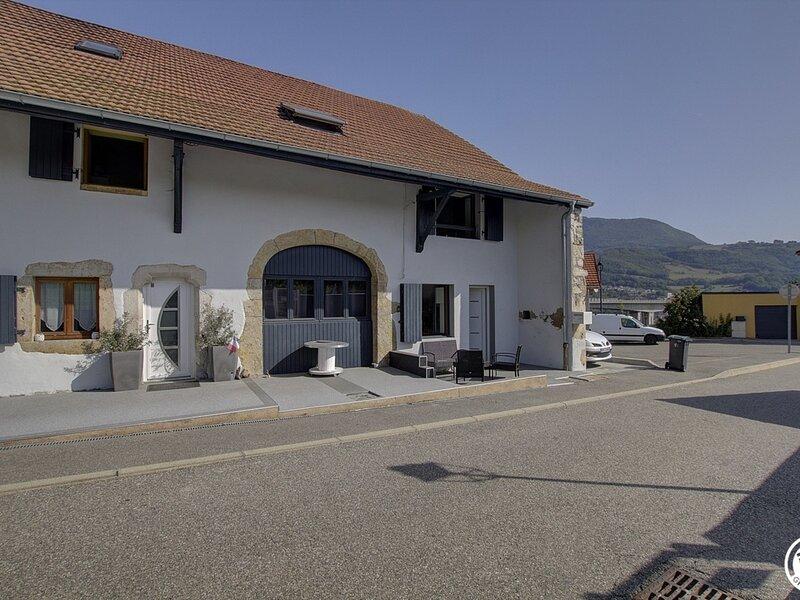 Gîtes de Mussel  La Valserine, holiday rental in Nantua