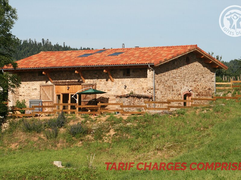 Le Grand Pont de Gaud, holiday rental in Champoly