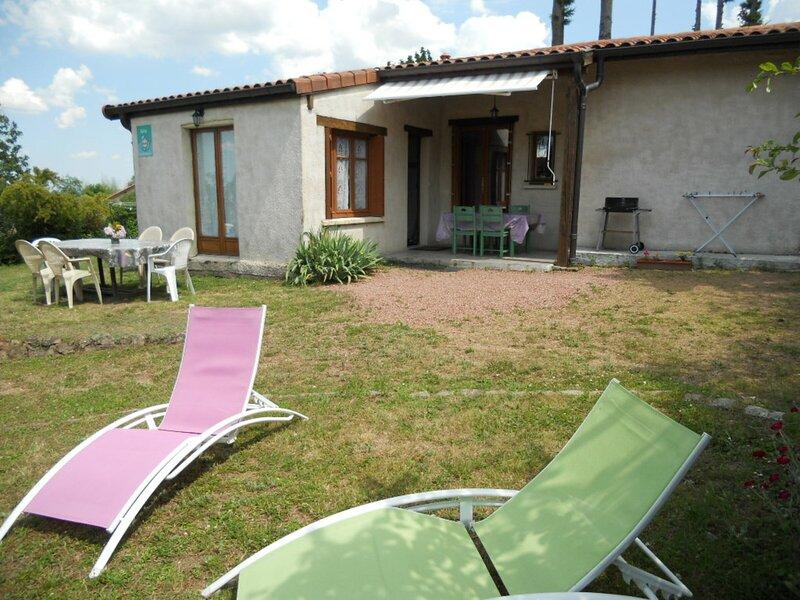 La Judée, holiday rental in Le Crozet