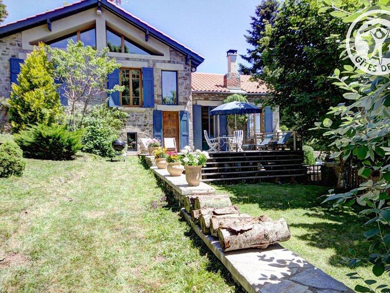 La Creuse, holiday rental in Pelussin