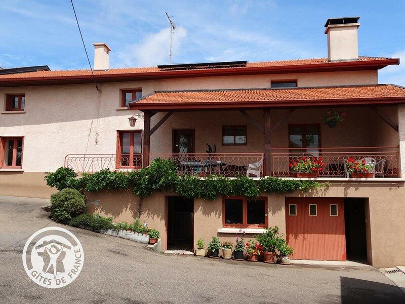 Chez Colas, holiday rental in Joux