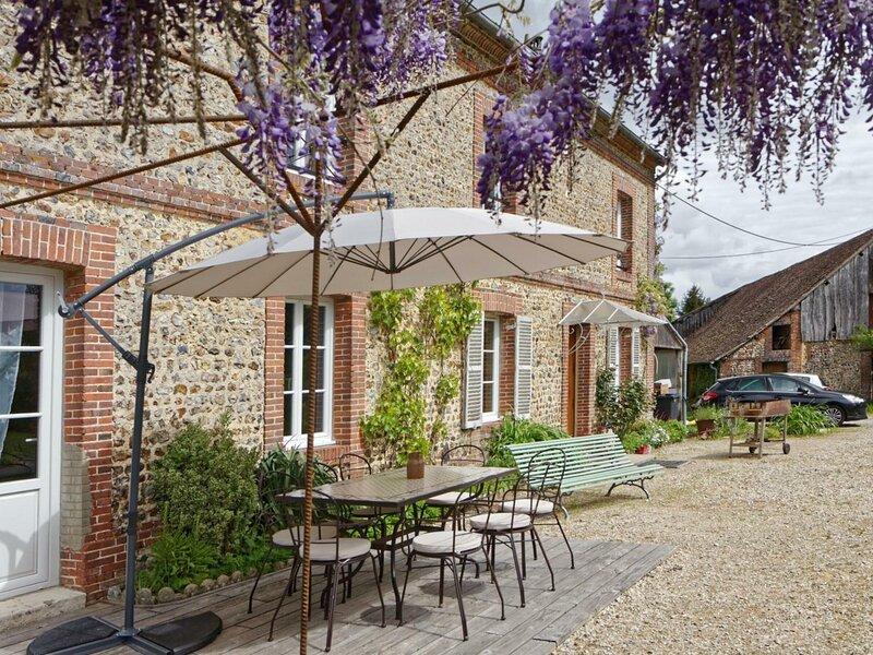 La Bouchardière, holiday rental in Chennebrun