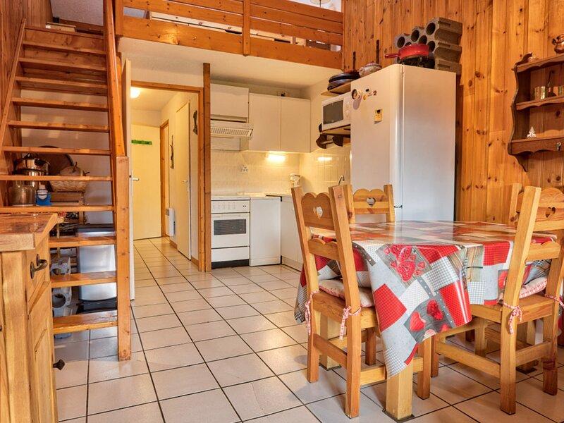 APPARTEMENT AMBIANCE MONTAGNE - COEUR DE L'ESPACE DIAMANT, holiday rental in Notre Dame de Bellecombe