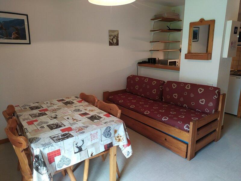 PMA013 Appartement 4 pers au pied des pistes avec belle vue montagne, holiday rental in Termignon