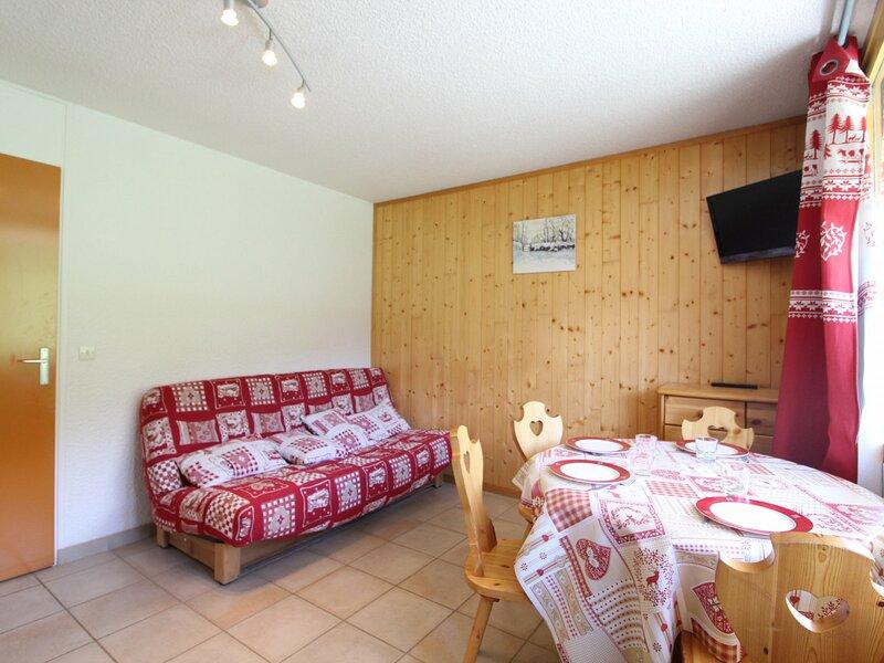 COL045 - appartement 4 personnes avec vue sur pistes, alquiler de vacaciones en Lanslevillard