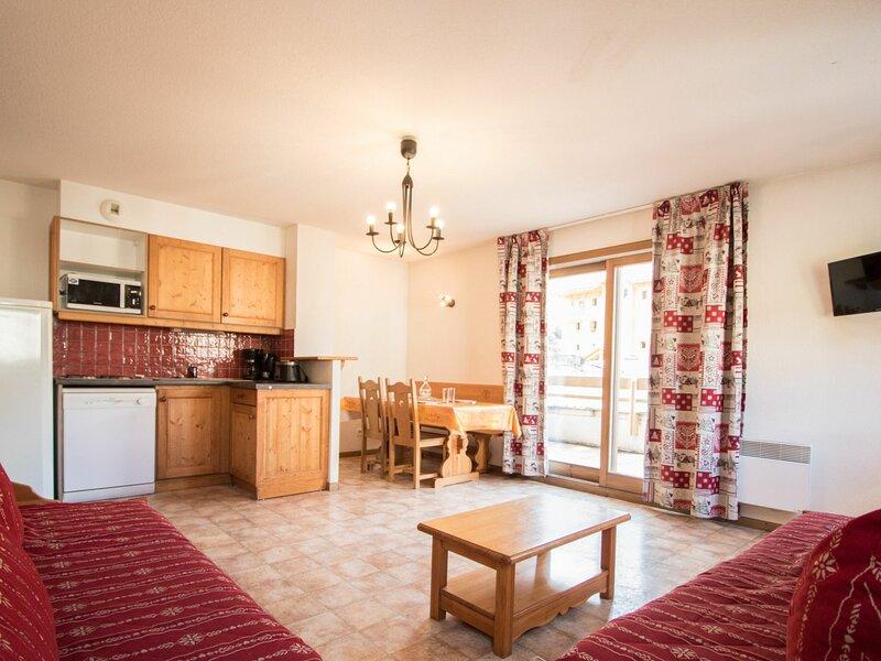 BONB03M - Appartement spacieux pour 5 personnes au pied des pistes, alquiler de vacaciones en Lanslevillard