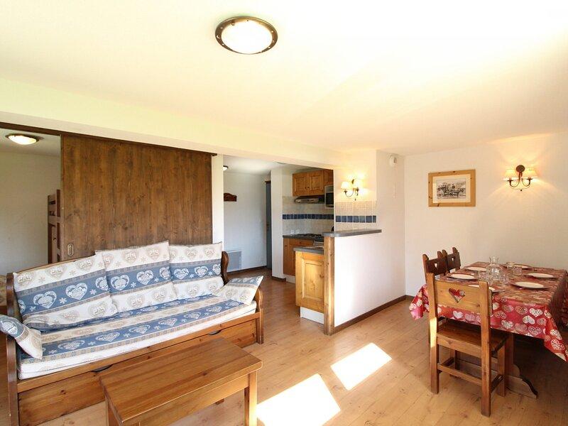 SPO001M Appartement spacieux pour 6 personnes avec terrasse, casa vacanza a Bramans