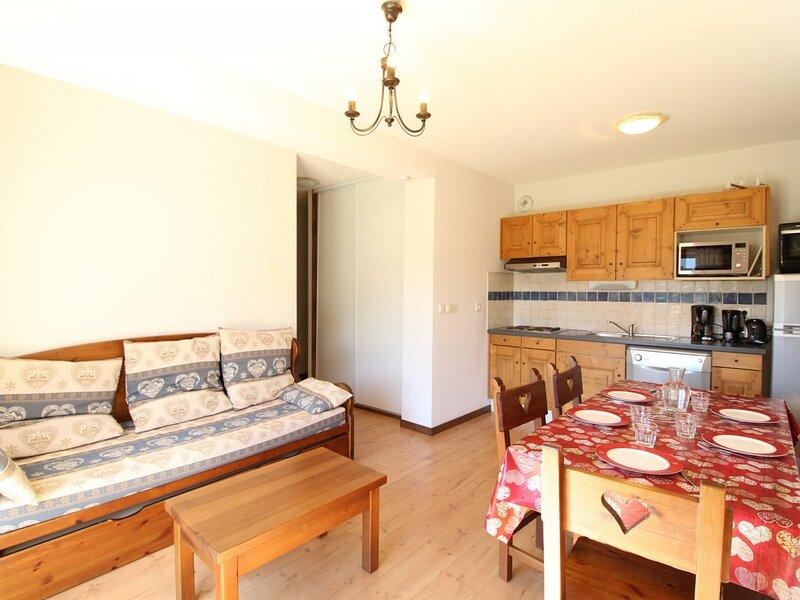 SPO004 Appartement 6 pers avec terrasse et très belle vue montagne, casa vacanza a Bramans