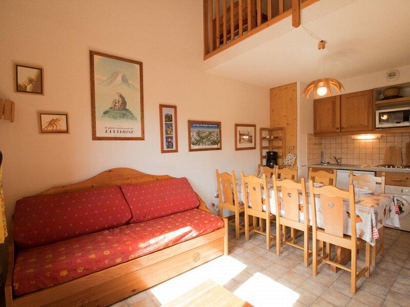 COM333M : Appartement dans quartier calme proche des navettes gratuites et de, casa vacanza a Bramans