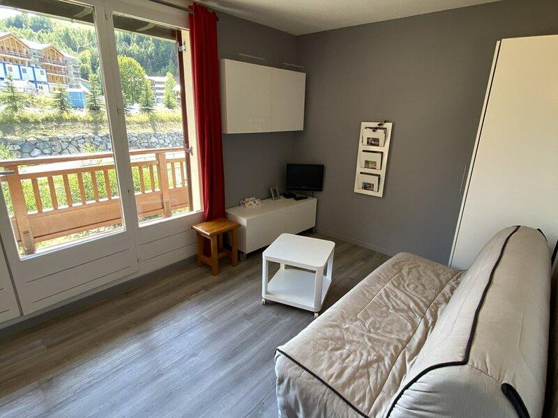 Agréable appartement 4 couchages près des pistes, alquiler vacacional en Mizoen