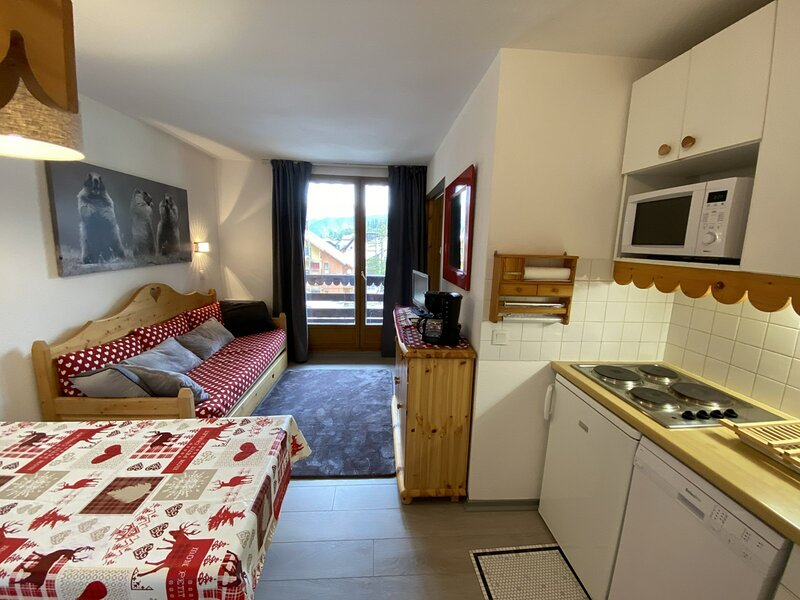 Joli appartement T3 à RISOUL à 50m des pistes de ski, aluguéis de temporada em Risoul