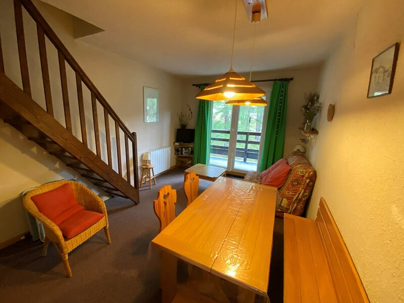Duplex tout confort à 10m des pistes à Risoul, aluguéis de temporada em Risoul