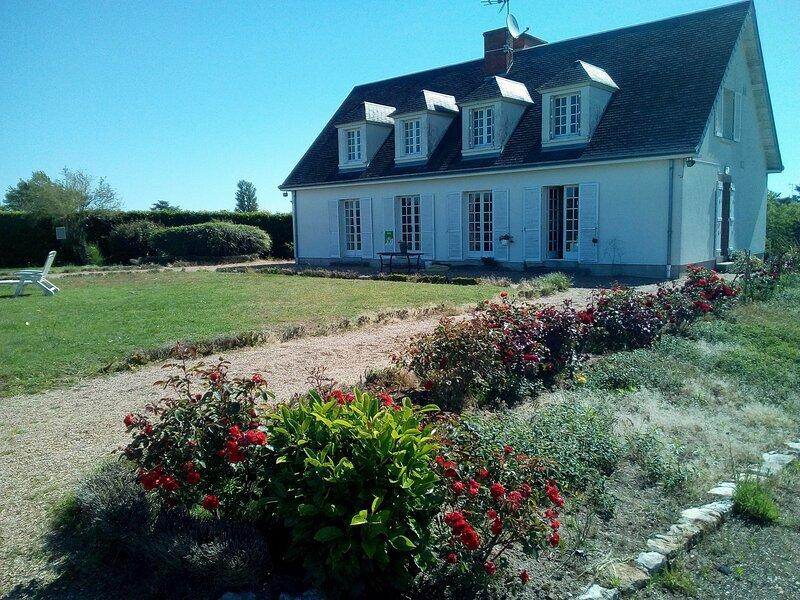 Terrasses de Loire, holiday rental in Tigy