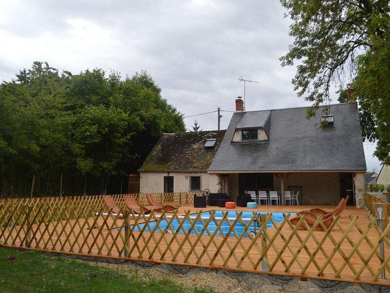 Le Gîte du Héron, location de vacances à Argy