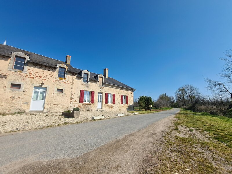 Gîte rouge, holiday rental in Buzancais