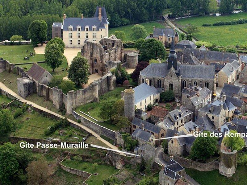Gîte des Remparts, location de vacances à Saint-Denis-d'Orques