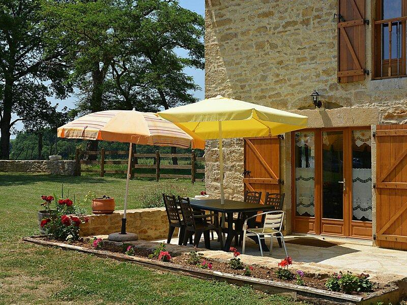 La grange du Soulié, holiday rental in Villeneuve d'Aveyron