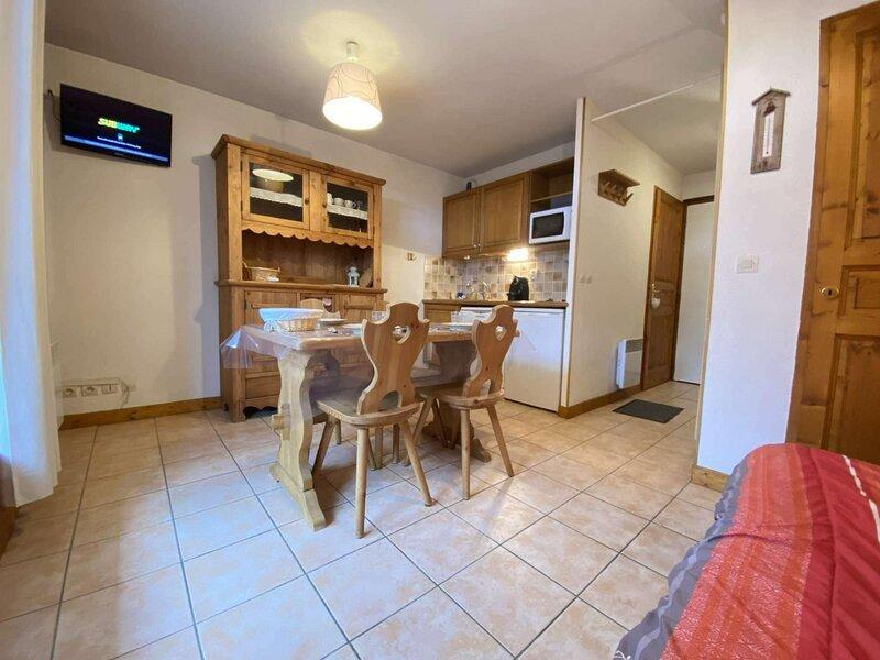 Studio cabine - Praz-sur-Arly (74), location de vacances à Praz Sur Arly