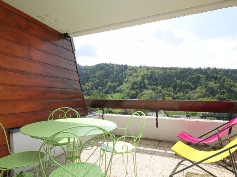 LE MONT DORE STUDIO AVEC TERRASSE ET WIFI, holiday rental in Chambon-sur-Lac