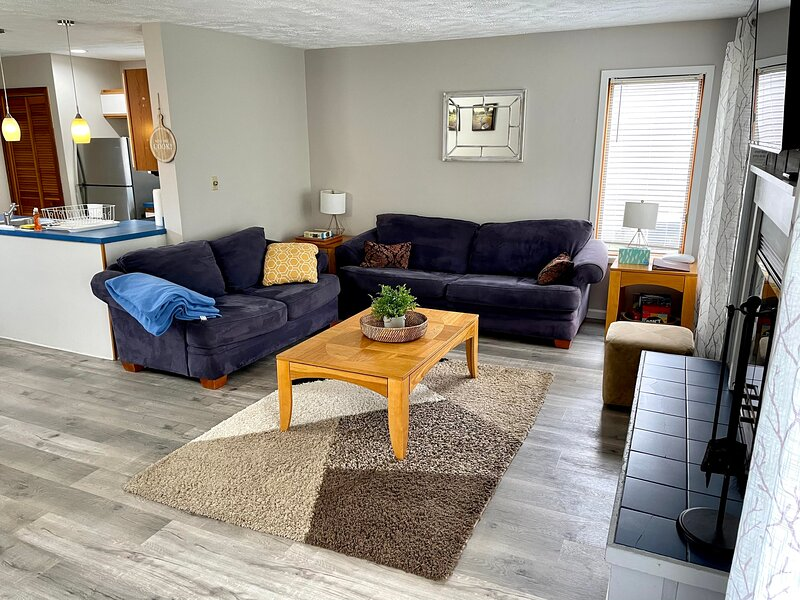 Mountain Air Townhouse, FAMILY FRIENDLY; Quiet or Adventure; Hiking& Jacuzzi, holiday rental in Stroudsburg