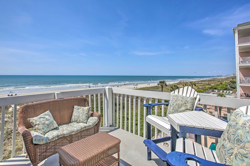 North Myrtle Beach Vacation Rental Condo   3BR   2BA   Stairs Required