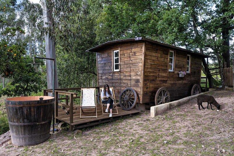 The Western Wagon, aluguéis de temporada em Macieira de Alcoba