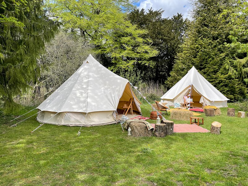 Avington Glamping | Tent 2 - Lottie's, holiday rental in Winchester