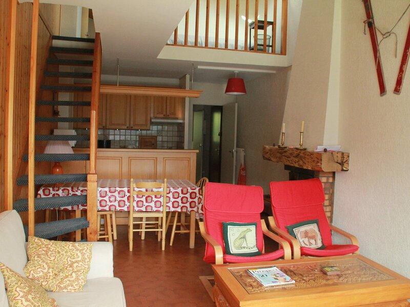 Appartement 4 pièces duplex 8 personnes, location de vacances à Torgon
