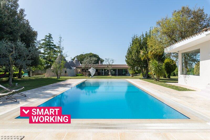 Villa Enò Trulli & Pool by Wonderful Italy, holiday rental in Noci