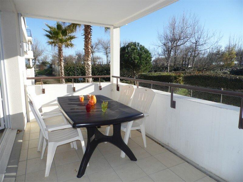 Appartement 2 pièces en accès direct à la plage, alquiler vacacional en Marseillan