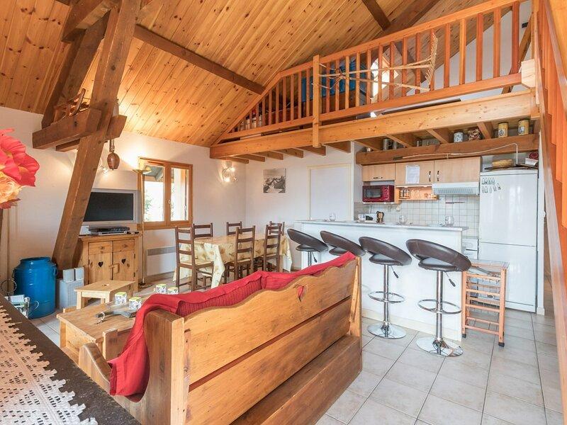 Appartement 4 pièces en duplex 10/12 personnes Briançon, location de vacances à Saint-Martin-de-Queyrieres