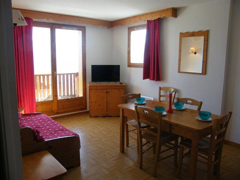 Appartement - 2 pièces - 4 personnes - Puy saint Vincent 1800, casa vacanza a Puy-Saint-Vincent