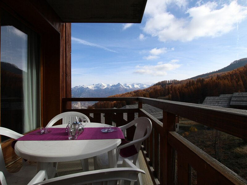 Appartement cabine - 2 pièces - 6 personnes - Puy Saint Vincent 1800, holiday rental in Freissinieres