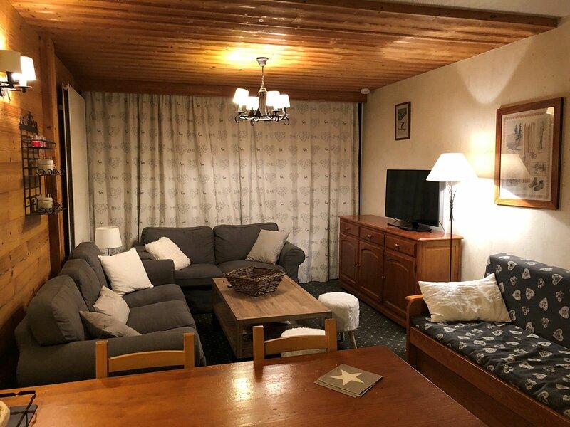 Charmant duplex pour 8 personnes, pied des pistes, holiday rental in Saint-Christophe-en-Oisans
