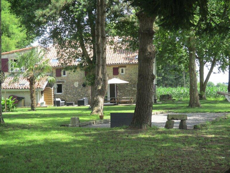 Gîte de Lelanne, location de vacances à Saint-Jean-de-Marsacq
