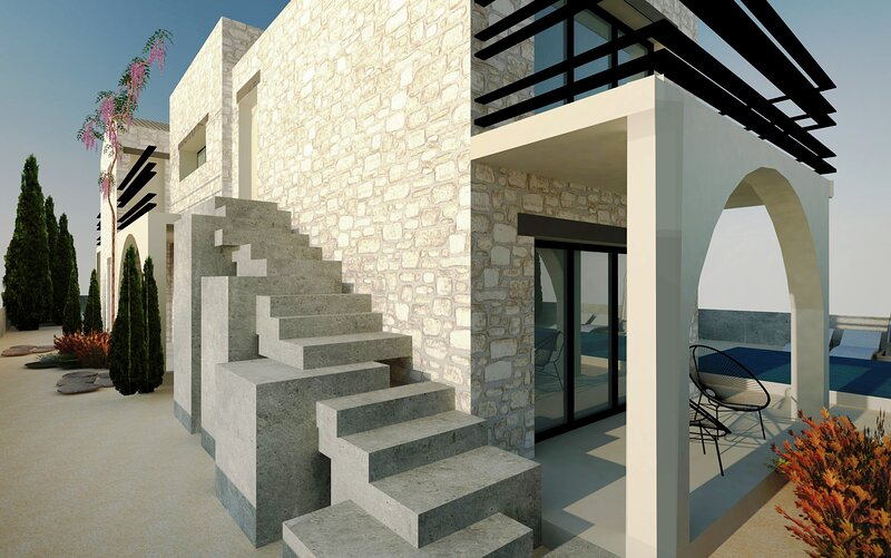 BATU Luxury Apartments, alquiler vacacional en Mytikas