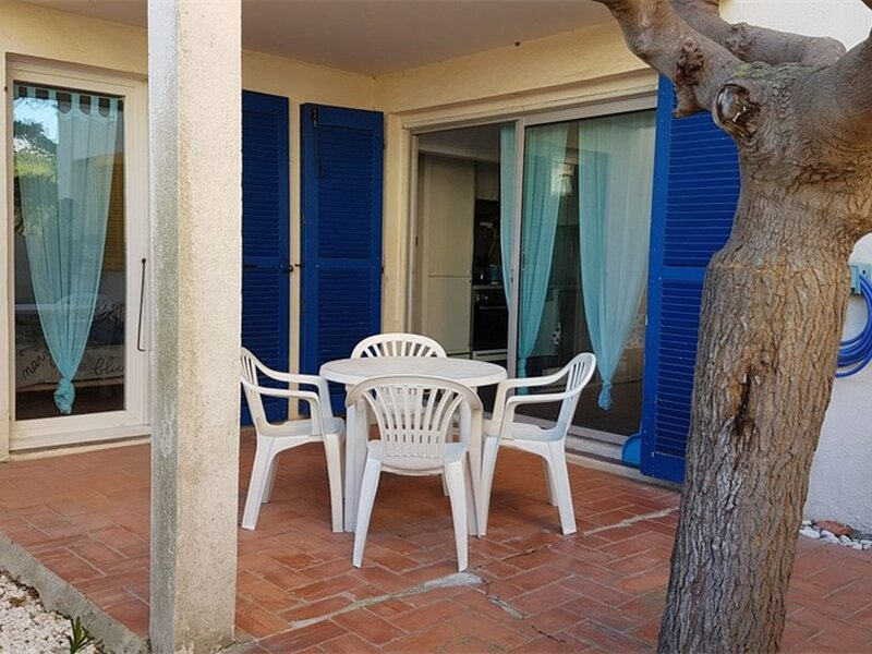 Appartement T3 en rez de chaussé avec accès direct à la plage  6EST1 – semesterbostad i Port Leucate