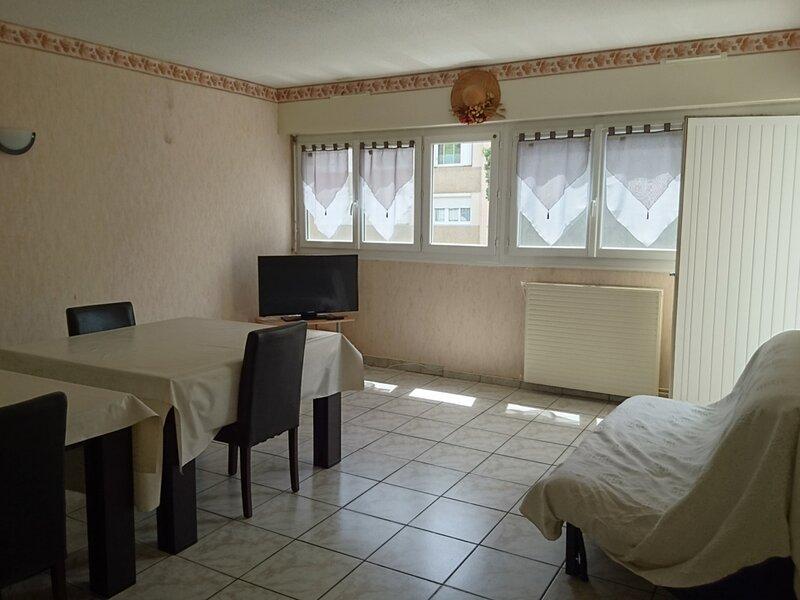 Loc.Saisonnière - REF0044 - T2 traversant de 55m², holiday rental in Balaruc-le-Vieux