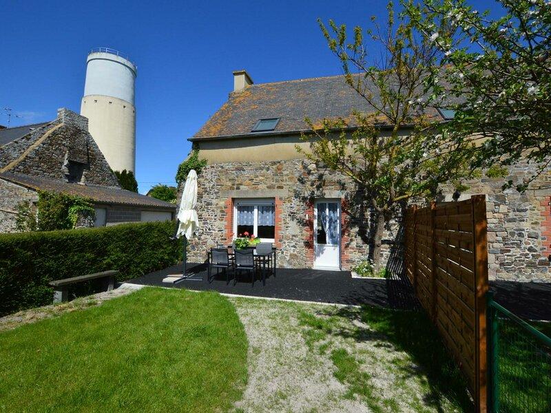 Location Gîte Cherrueix, 3 pièces, 5 personnes, casa vacanza a Saint-Broladre