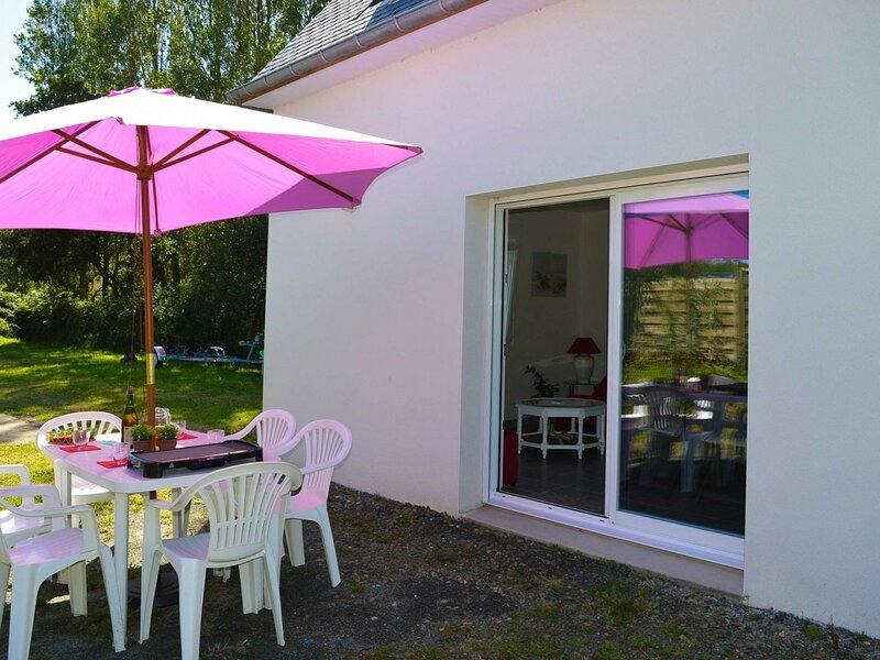 Mesk Ar Mein classée 2** à 800 m de la plage de Landrellec jardin et Wifi, casa vacanza a Pleumeur Bodou