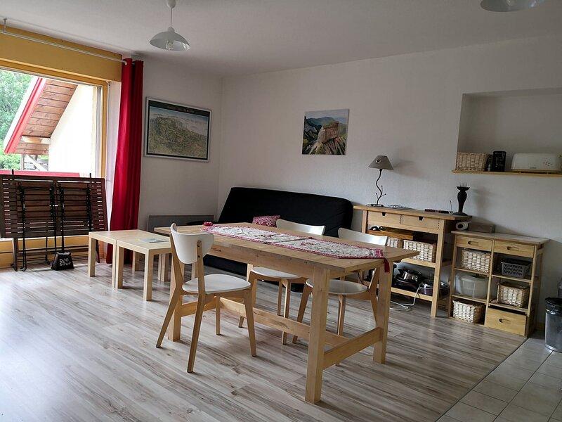 Agréable T2 plus cabine avec balcon à Villard de Lans, location de vacances à Meaudre