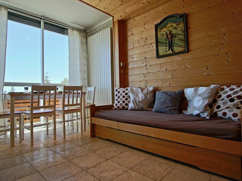 studio cabine 4 pers. au pied des pistes classé 3*, alquiler de vacaciones en Chamrousse