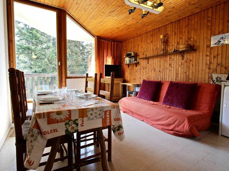 Studio cabine au pied des pistes et à proximité des commerces, alquiler de vacaciones en Chamrousse