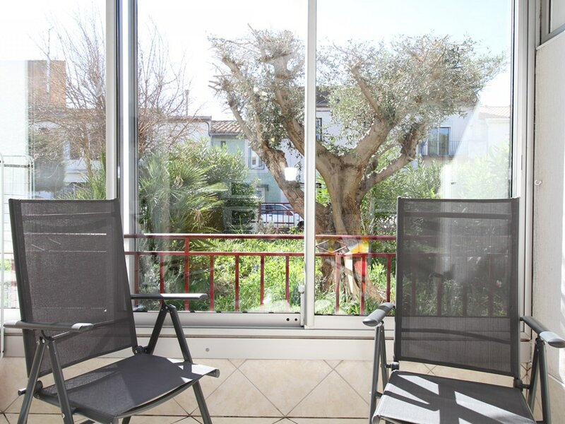Appartement T1 - RESIDENCE L'EDELWEISS, holiday rental in Balaruc-le-Vieux