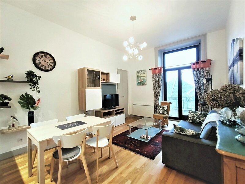 Superbe T2 au cœur du centre-ville!, holiday rental in Mouxy