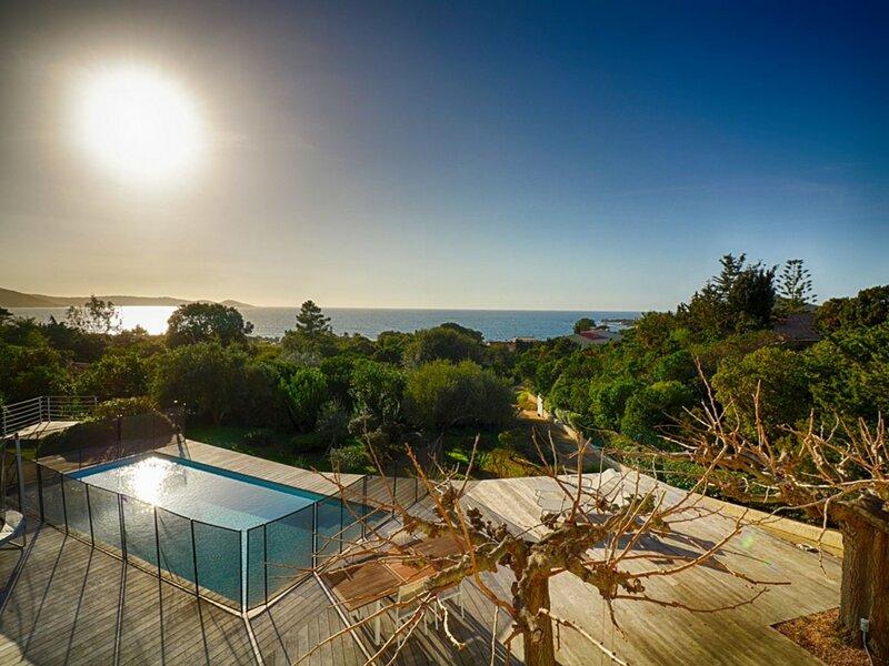 PORTICCIO - Villa avec piscine Isolella, location de vacances à Pietrosella